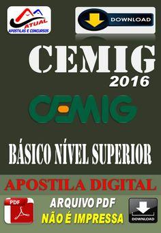 Apostila Digital Concurso Cemig Telecom MG Basico Nivel Superior 2016
