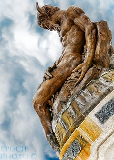 "Pittsburgh's Hell Boy... by Bob Vishneski, via 500px.  ""Pan The Earth God,"" in Pittsburgh."