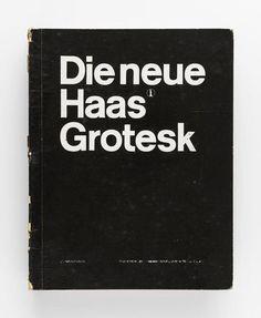 Atelier Müller-Brockmann, Die Neue Haas Grotesk, Zürich, ca. 1960