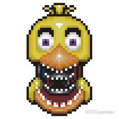 fnaf pixel art - Google Search