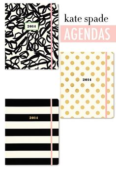 I want these Kate spade planners so much!!