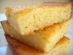 Rice coconut cheese cake from Philippines