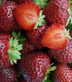 Erittäin satoisa. Tummanpunaiset, kiinteät ja hyvän makuiset marjat keskikesällä. Marja säilyttää kiinteytensä myös pakastettaessa. Strawberry, Fruit, Food, Eten, Strawberry Fruit, Strawberries, Meals, Diet