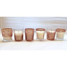 25 rose gold votives votive candle holder by EverydayDesignEvents