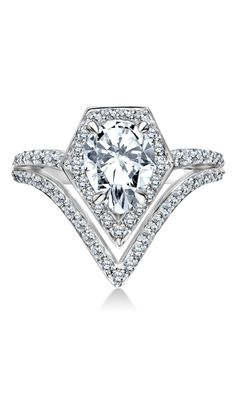 Engagement ring from the new Karl Lagerfeld Fine Jewelry Collection