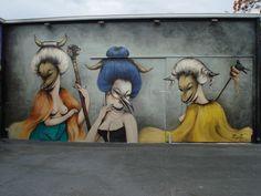 Miami wynwood  street art Miss Van