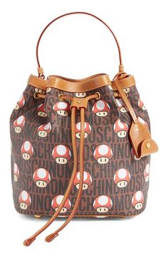 Moschino 'Nintendo Super Mario Bros.®' Bucket Bag available at #Nordstrom