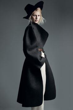 The New Now: Julia Nobis in Hermès by Patrick Demarchelier For Uk Vogue August 2014