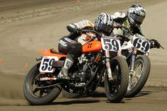 59 and 69 battling in the dirt
