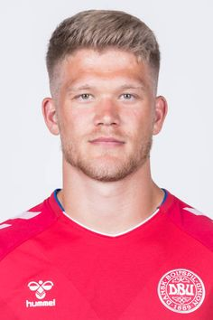 Andreas Cornelius of Denmark poses during official FIFA World Cup 2018 portrait session on June 12 2018 in Anapa Russia Rugby Players, Football Players, Fifa World Cup 2018, Sports Celebrities, National Football Teams, Poses, Physical Activities, Danish, Denmark