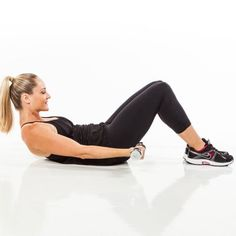 Work multiple parts of your upper-body at once! The Lying Circle Scoop is a dumbbell exercise that will tone your shoulders while also working your abs.