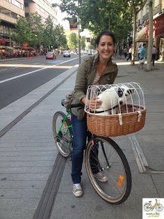 """""""Veo que cada vez hay más bicis en Madrid"""", Sonia Arana, odontóloga"""