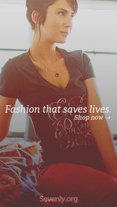 Look good, do good ► http://sevenly.org/pinforgood