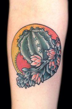 nice little desert tattoo by Phil Hatchet-Yau Side Tattoos, New Tattoos, Cool Tattoos, Tatoos, Tatto Ink, Tatoo Art, 7 Tattoo, Tattoo Spots, Tattoo Flash