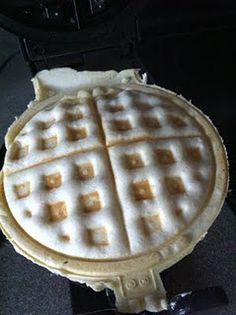 Waffle Pizza...very clever use of your waffle iron
