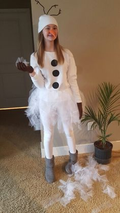 Homemade olaf costume costumes pinterest olaf costume olaf olaf diy costume solutioingenieria Image collections