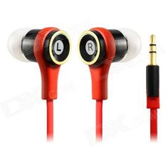 #Flat #Cable #InEar #Earphones #For #IPHONE #Ipad #IPOD # #Red #Cell #Phones # #Accessories #Headphones #Home #iPhone #Accessories Available on Store USA EUROPE AUSTRALIA http://ift.tt/2ia5UM5