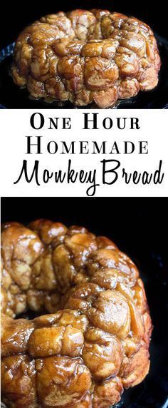 1 Hour Homemade Monkey Bread. Make ahead and have an easy breakfast before lunch or dinner...