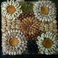 Thali Decoration Ideas, Fruit Decorations, Engagement Basket, Watermelon Sticks, Yalda Night, Candy Crafts, Flower Food, Iranian Food, Fruit Recipes