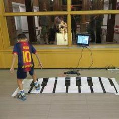 Makey Makey Floor Piano