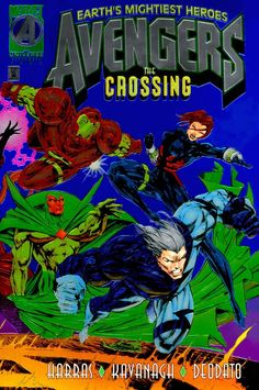 Avengers: The Crossing by Mike Deodato Jr.