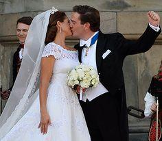 Swedish Royal Wedding: Princess Madeleine Marries In A Valentino Dress