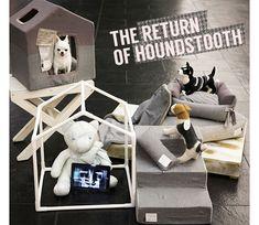 louisdog ★Peekaboo/Houndstooth