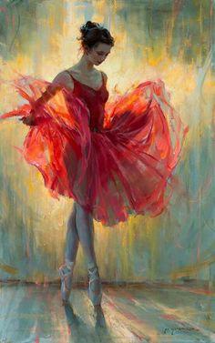 Oil painting - the living art! Ballerina Kunst, Ballerina Painting, How To Draw Ballerina, Ballerina Project, Dance Paintings, Oil Paintings, Ballet Art, Ballet Dancers, Fine Art