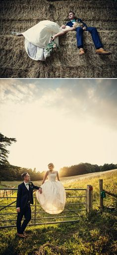 Rustic farm wedding, 2nd photo = perfect light.