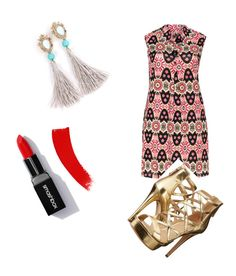"""""""Untitled #2"""" by vapetrova ❤ liked on Polyvore featuring Samya and GUESS"""