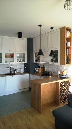 kuchnia, fronty ramiak lakierowany, półmat
