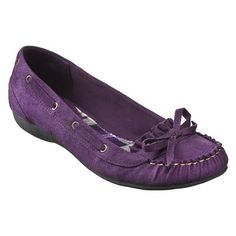 Cute purple Target brand moccasins - of course not in stock at any nearby stores