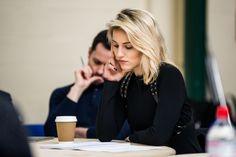 Dianna Agron beginns rehearsals for McQueen