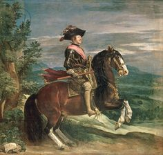 Equestrian Portrait of Philip IV (1605-65). c.1636 (oil on canvas). 301 x 314. Prado, Madrid.
