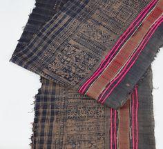4.7yd Rare Vintage Hmong Hemp Indigo Batik Fabric   by LannaPassa  #vintage #vintagefabric #hmong #hilltribe #fabric #textile #hemp #indigo #indigobatik #batik #handspun #handwoven #vintagetextile #hilltribetextile #indigofabric #etsy #etsyfinds