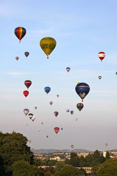 Bristol Balloon Fiesta. I remember going to this as a small child and being in complete awe.