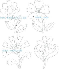 Hand Applique, Machine Applique, Wool Applique, Flower Applique, Applique Quilts, Embroidery Applique, Quilting Templates, Applique Templates, Applique Patterns