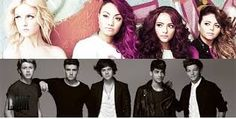 one direction y little mix♥
