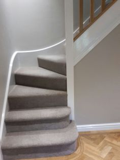 F & B Skimming Stone on Main Wall and . F & B Skimming Stone on the main wall Gray Grey Stair Carpet, Patterned Stair Carpet, Carpet Stairs, Wall Carpet, Beige Carpet, Patterned Wall, Stairs Colours, Floor Colors, Carpet Colors