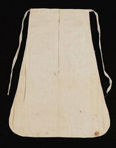 """Dmitry pockets. """"All old ladies wore these pockets & carried their keys in them,"""" wrote the granddaughter of John Adams in a note describing the one belonging to her grandma. Plain ones like these were worn under the skirt, likely accessible through a discreet slit in the folds of the fabric."""