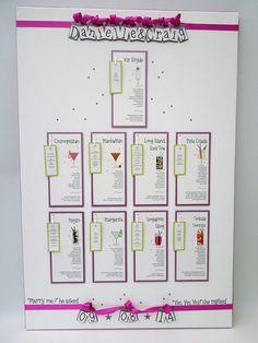 Wedding Table Plans U0026 Names* Bunny Delicious