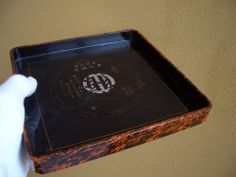 antique tray is OBON in Japanese