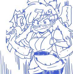 Comic Art Girls, Manga Story, Thing 1, Kawaii Girl, Illustrations And Posters, Dragon Ball, Cool Art, Fan Art, Retro