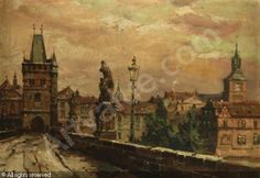 Charles Bridge was sold by Dorotheum, Prague, on Saturday, May Art and Antiques Charles Bridge, Prague, Antiques, Painting, Art, Antiquities, Art Background, Antique, Painting Art