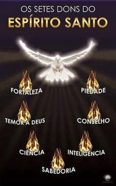 Os 7 dons do Espírito Santo de Deus