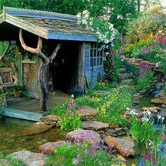 même sans le ruisseau,ce serait joli...