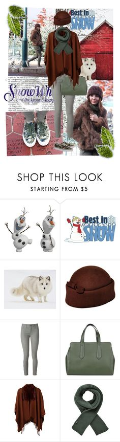 """Best in SNOW.."" by emabasiccc ❤ liked on Polyvore featuring Nicki Minaj, WALL, Disney, National Geographic Home, J Brand, Innue, Dents, STONE ISLAND and Vans"