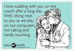 I Love Cuddling