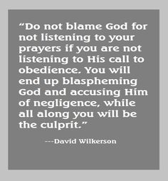 David Wilkerson quote