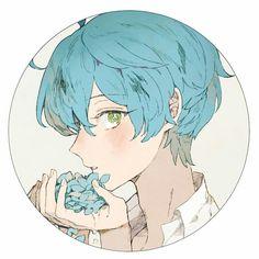 Kanata | Ensemble Stars! Anime Neko, Manga Anime, Anime Art, Anime Boys, Cute Anime Boy, Manga Boy, Anime Profile, Profile Pics, Fan Art